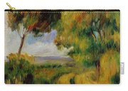 Breton Landscape Trees And Moor 1892 Carry-all Pouch