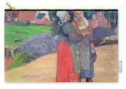 Breton Peasants Carry-all Pouch