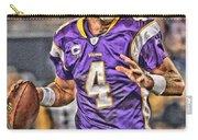 Brett Favre Minnesota Vikings Carry-all Pouch
