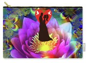 Brian Exton Sacred Flower Of Love  Bigstock 164301632  2991949  12779828 Carry-all Pouch