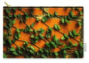Brick And Leafs Carry-all Pouch