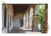 Brick And Stone Arches Line Walkway In Old Mission Ruin Carry-all Pouch