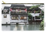 Brick House On River Carry-all Pouch