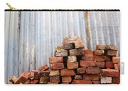 Brick Piled Carry-all Pouch by Stephen Mitchell