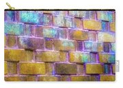 Brick Wall In Abstract 499 S Carry-all Pouch