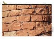 Bricks Spiraling Carry-all Pouch