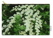 Bridal Wreath Carry-all Pouch