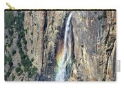 Bridalveil Falls From Above - Yosemite Carry-all Pouch