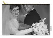 Bride And Groom, C.1960s Carry-all Pouch