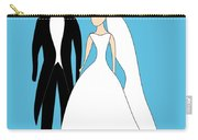 Bride And Groom Carry-all Pouch