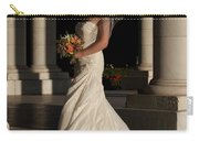 Bride In A Park Carry-all Pouch