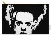 Bride Of Frankenstein In Black Carry-all Pouch