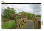 Bridge Along Lewis And Clark Hiking Trail  Carry-all Pouch