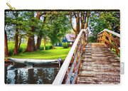Bridge And River In Old Dutch Village Carry-all Pouch
