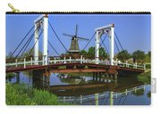 Bridge And Windmill Carry-all Pouch