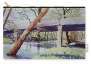 Bridge At Camp Verde Carry-all Pouch