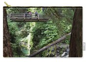 Bridge At Sol Duc Fall #1 Carry-all Pouch