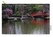 Bridge In Bamboo Garden Carry-all Pouch
