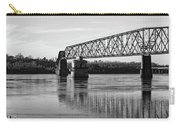 Bridge In Black And White Carry-all Pouch