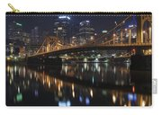 Bridge In The Heart Of Pittsburgh Carry-all Pouch