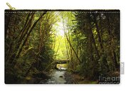 Bridge In The Rainforest Carry-all Pouch