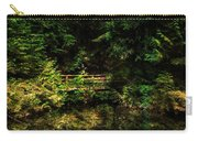 Bridge In The Woods Carry-all Pouch