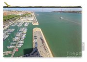 Bridge Of 25 April Panorama Carry-all Pouch