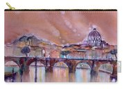 Bridge Of Angels - Rome - Italy Carry-all Pouch