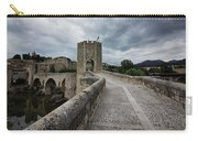 Bridge Of Besalu, Girona Provence, Catalonia, Spain-2 Carry-all Pouch