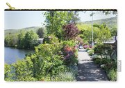 Bridge Of Flowers Walkway Carry-all Pouch