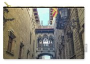Bridge Of Sighs - Barcelona Carry-all Pouch