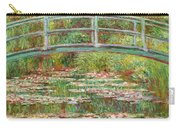 Bridge Over A Pond Of Water Lilies Carry-all Pouch