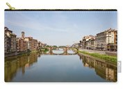 Bridge Over Arno River In Florence Italy Carry-all Pouch