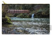 Bridge Over Hackleman Creek Carry-all Pouch