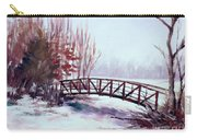 Snowy Span Carry-all Pouch