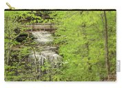 Bridge Over Little Clifty Falls Carry-all Pouch
