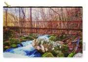 Bridge Over Mill Creek Carry-all Pouch