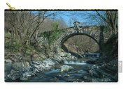 Bridge Over Peaceful Waters - Il Ponte Sul Ciae' Carry-all Pouch by Enrico Pelos