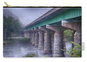 Bridge Over The Delaware River Carry-all Pouch