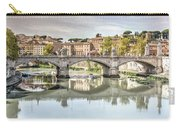 Bridge Over The River Tevere, Rome, Italy Carry-all Pouch