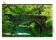 Bridge Over The Wissahickon Carry-all Pouch by Bill Cannon