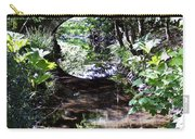 Bridge Reflection At Blarney Caste Ireland Carry-all Pouch