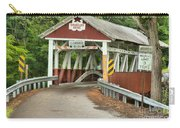 Bridge Through The Somerset Forest Carry-all Pouch