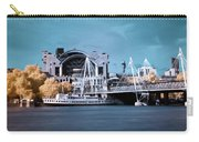 Bridge To Charing Cross Carry-all Pouch by Helga Novelli
