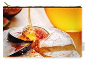 Brie Cheese With Figs And Honey Carry-all Pouch