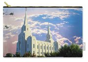 Brigham City Utah Temple Carry-all Pouch