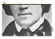 Brigham Young  Second President Of The Mormon Church, Aged 43, 1844 Carry-all Pouch