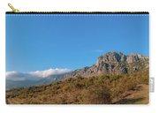 Bright Autumn Panorama Demerji Crimea Peninsula Carry-all Pouch