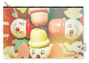 Bright Beaming Clown Show Act Carry-all Pouch
