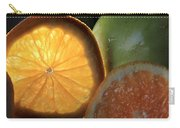 Bright Clementine  Carry-all Pouch